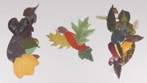 Crafty Leaves Birds