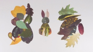 Crafty Leaves Bunny Rabbit