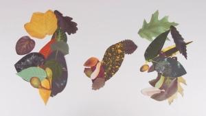 Crafty Leaves Squirrel
