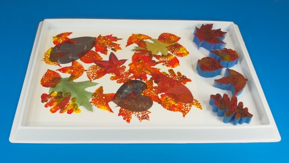 Stamping Leaves