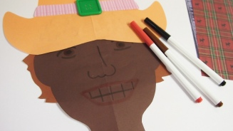 Cowboy People Paper Craft Details