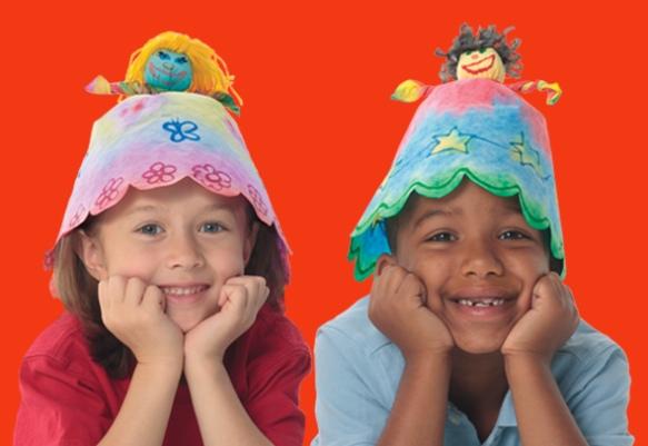 Roylco Doll Hats Welcome