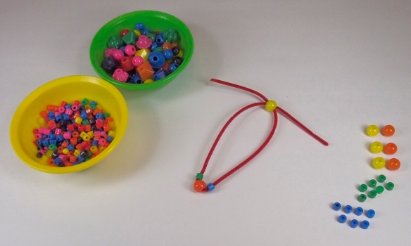 Holiday Napkin Ring Beads