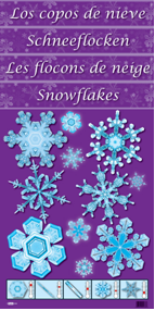 snowflakes color diffusing