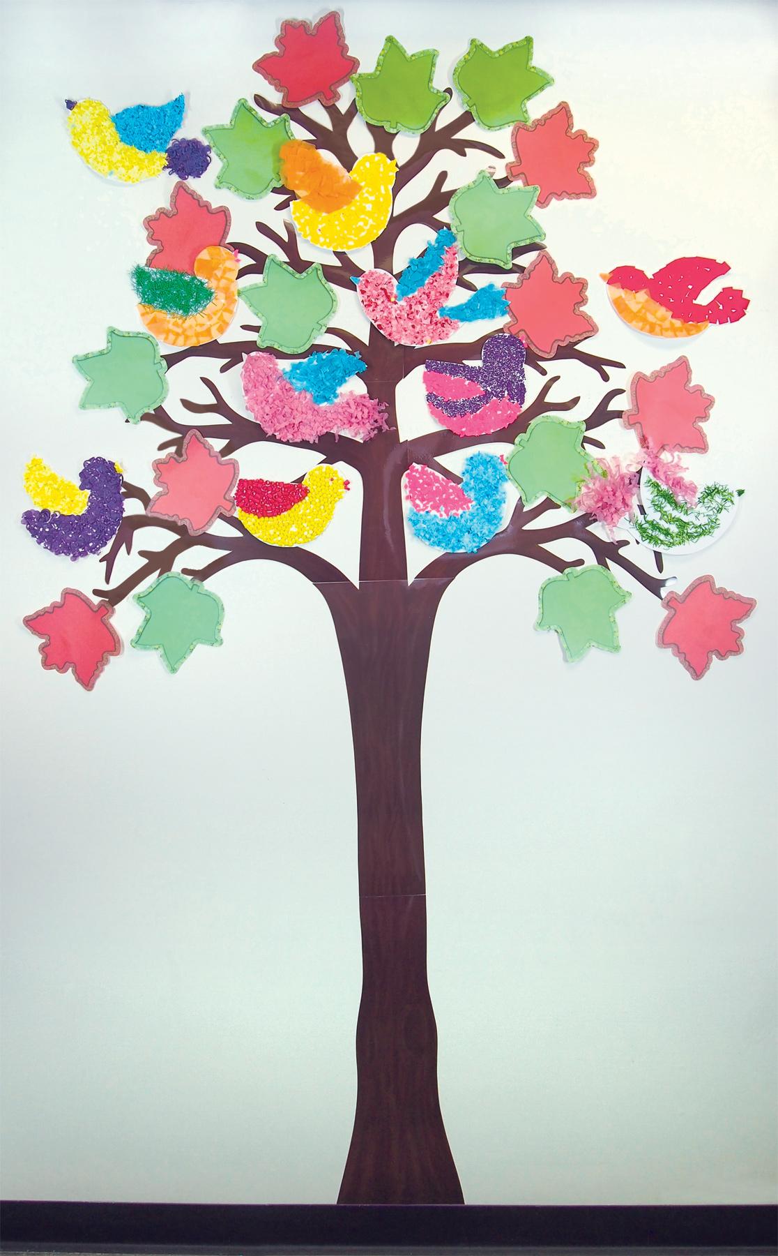 Classroom Decoration Tree ~ Classroom birds roylco
