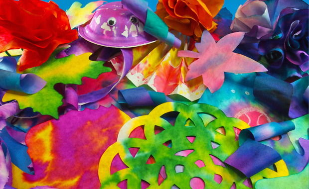 Craft spotlight color diffusing paper projects roylco - Colored paper art projects ...