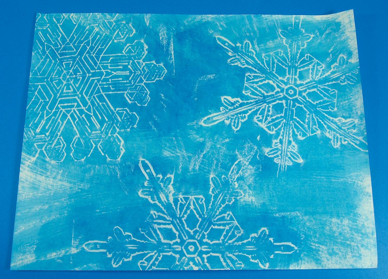 snowflake wax resist art roylco store