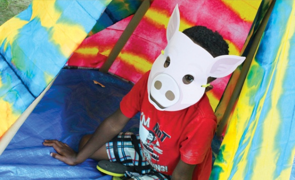 kids crafts barnyard masks