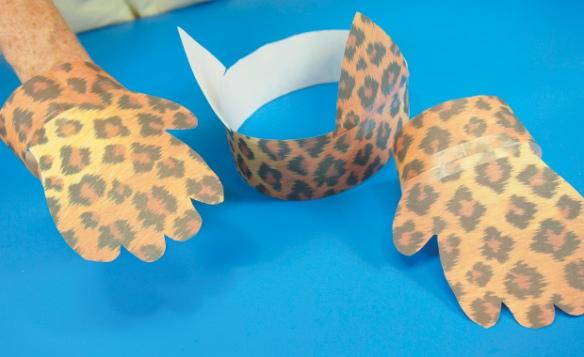 animal paper diy costume