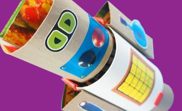 Gizmo paper robots