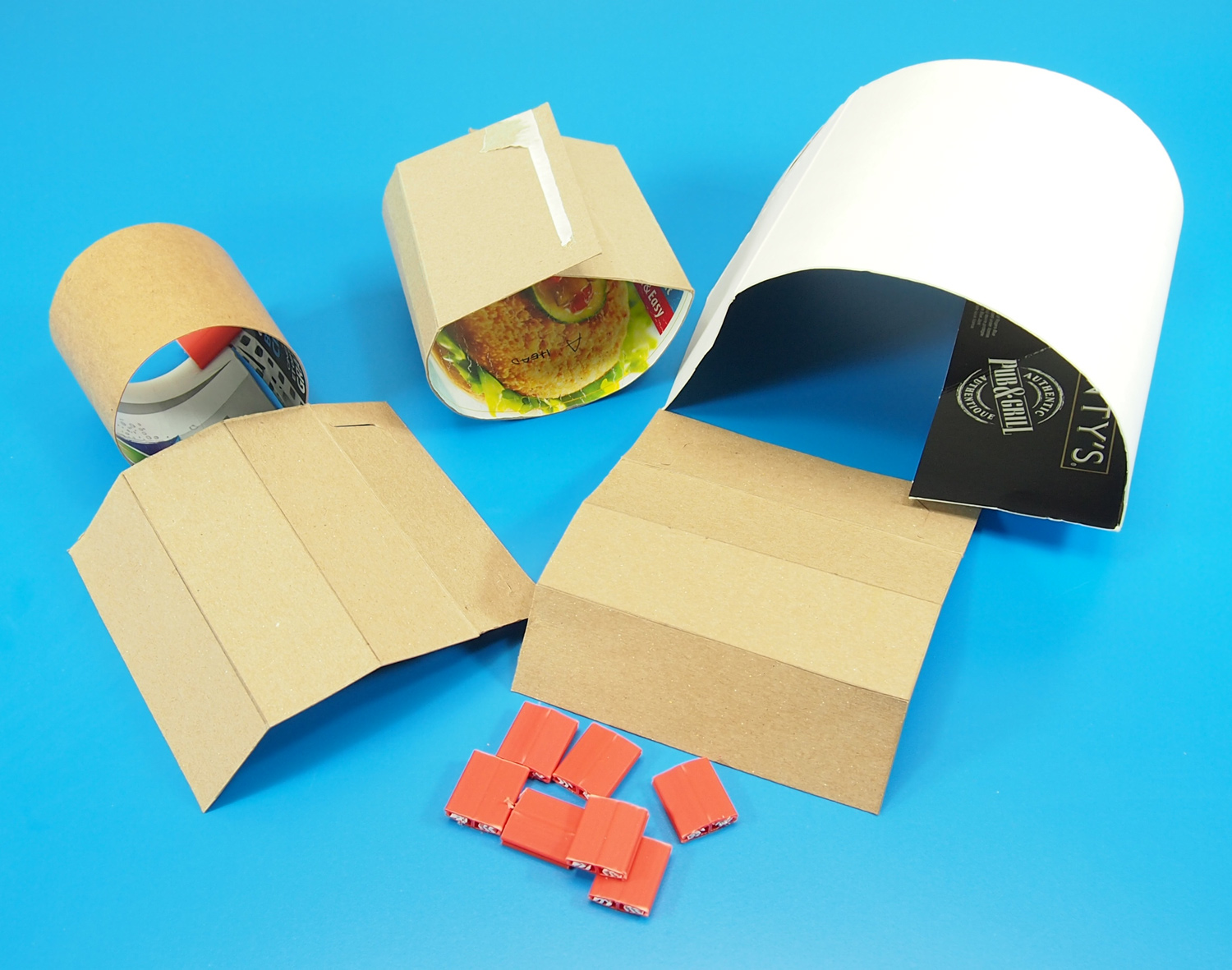 how to make a 3d robot out of paper
