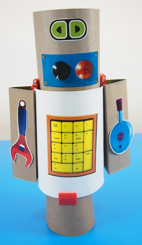 Gizmo Paper Robots | Roylco