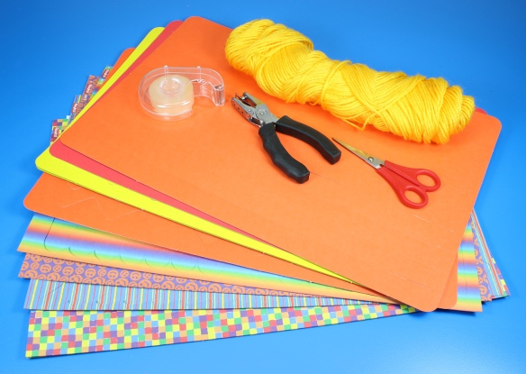 weaving placemat windsock