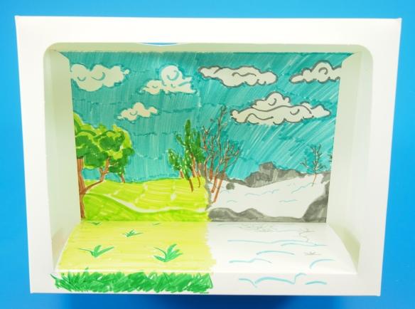 seasons diorama