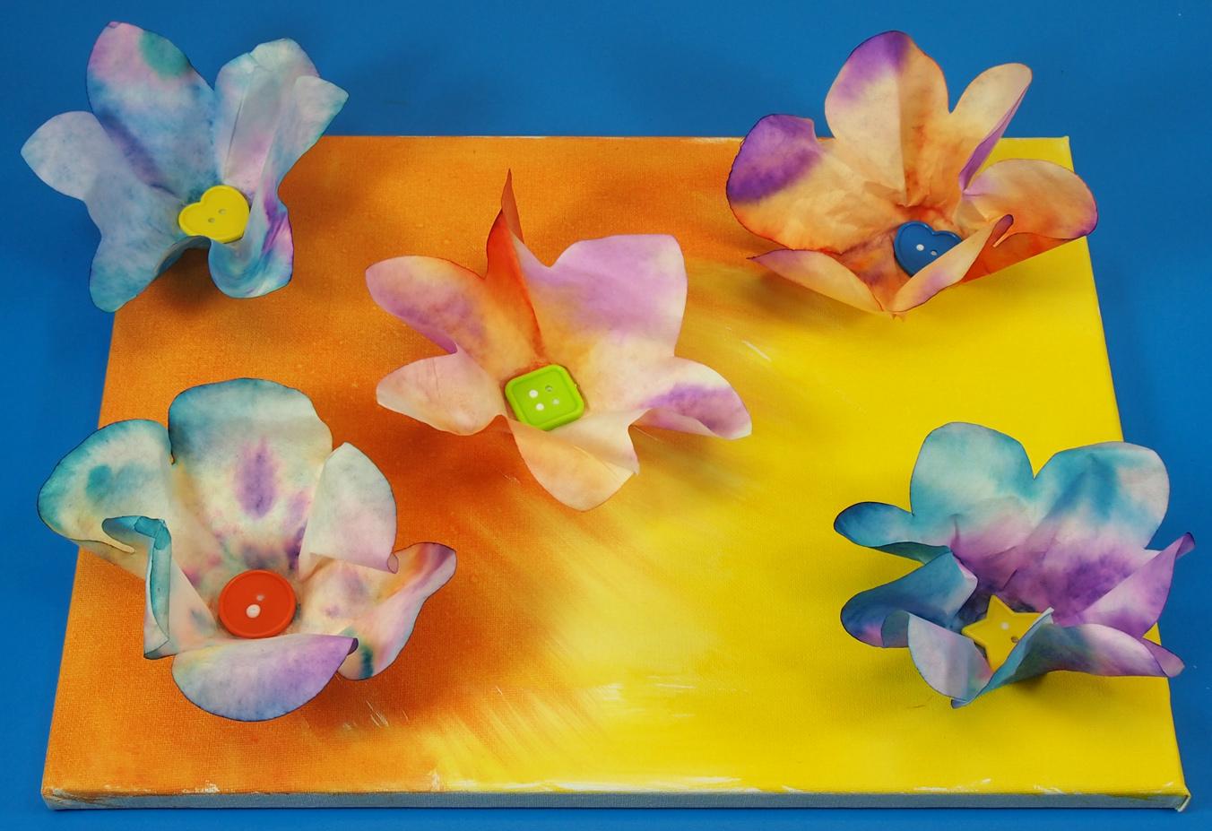 3D Flower Wall Art | Roylco