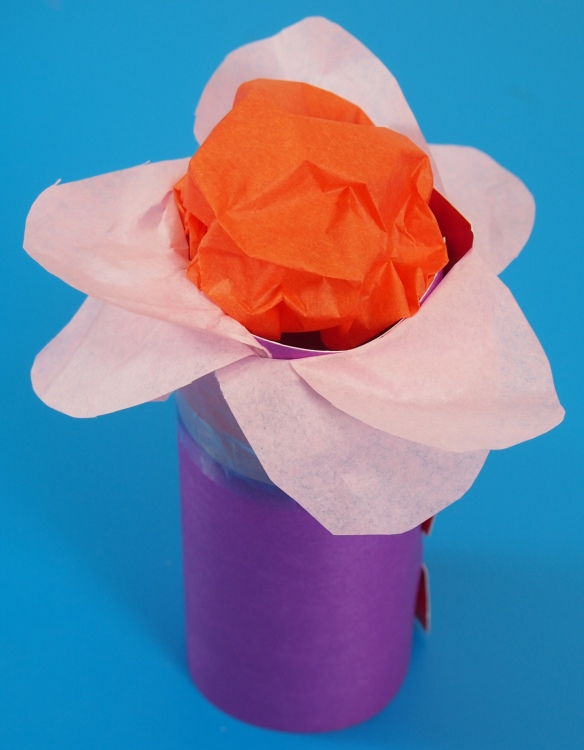tube crafts flowers