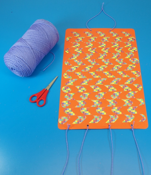 wall hang weaving mat