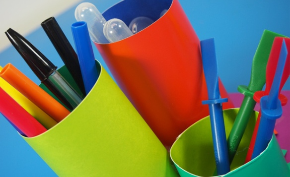 tube crafts desk organizer