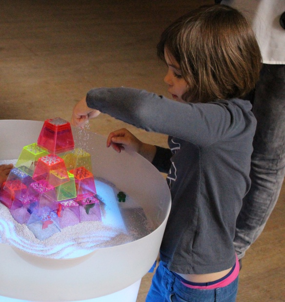crystal color stacking blocks