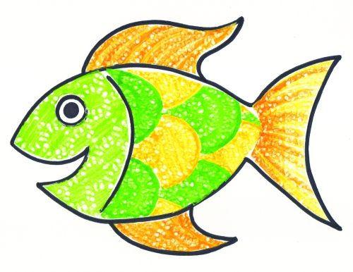 22054_Lace Design Paper_Craft Fish