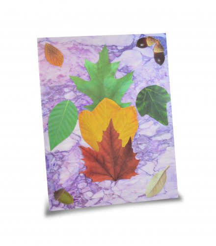 15401 Marple Paper - Purple Leaves
