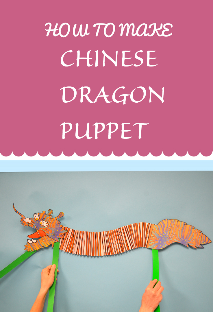 The Chinese New Year Begins On February 16th This And To Celebrate We Are Going Show You How Make A Dragon Puppet